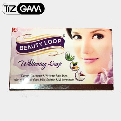 پکیج کرم و صابون بیوتی لوپ face cream and soap beauty loop ضد پیری چین چروک سفید کننده تیزگام tizgam کرم