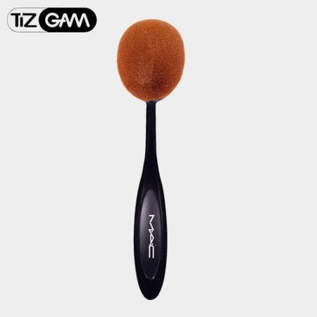 ست براش مک ده تای brush cream face high copy mac pack poodr set tizgam آرایش ابرو ارایش ارجینال اصلی اورجینال براش برس بسیار نرم تیزگام جعبه حساسیت خط زیر سازی سایه