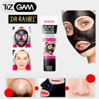 بلک ماسک صورت دکتر راشل اصل اصلی اورجینال ارجینال تیزگام tizgam dr rashel black mask جوش سر سیاه بینی روش مصرف فواید زمان مدت تاریخ انقضا تاثیره اثره تاثیر