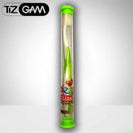جدیدترین مسواک نانو محافظ کامل مخصوص وسواسی درپوش حفاظ تیزگام tooth brush super clean nano tizgam محافظت از لثه ضد میکروب حساس حساسیت آنتی باکتری باکتریال دندون دندان سفید جرمگیر رنگ سبز